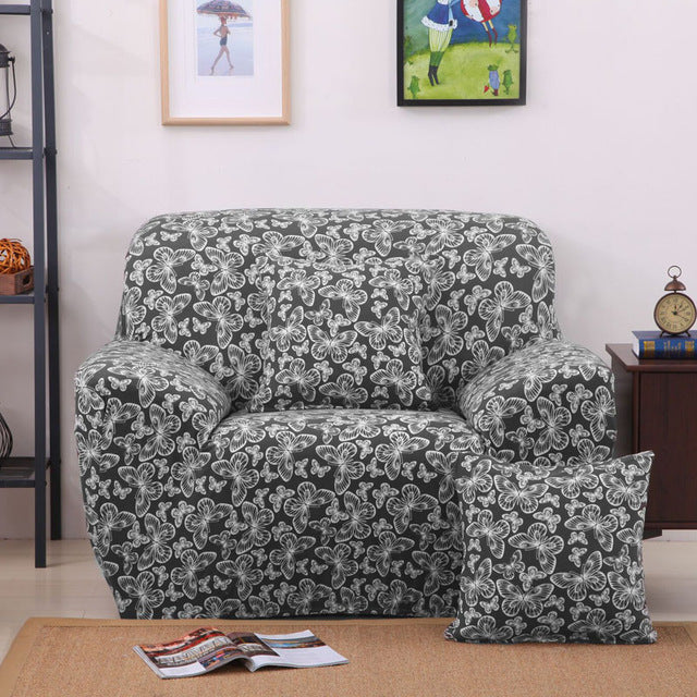 Infinite Butterfly Style Sofa Cover