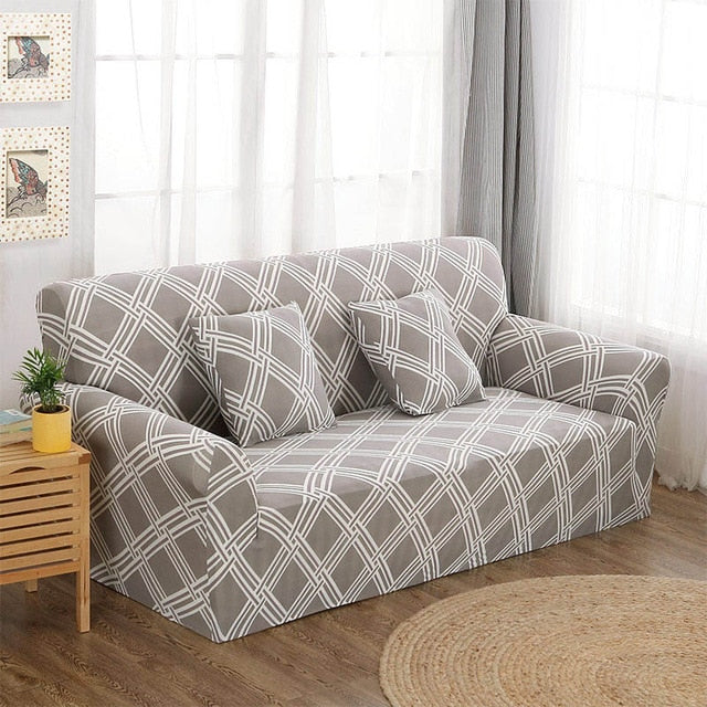 Linear Style Sofa Cover