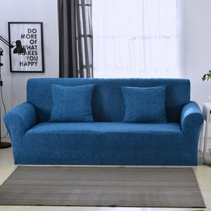 Blue Sofa Cover