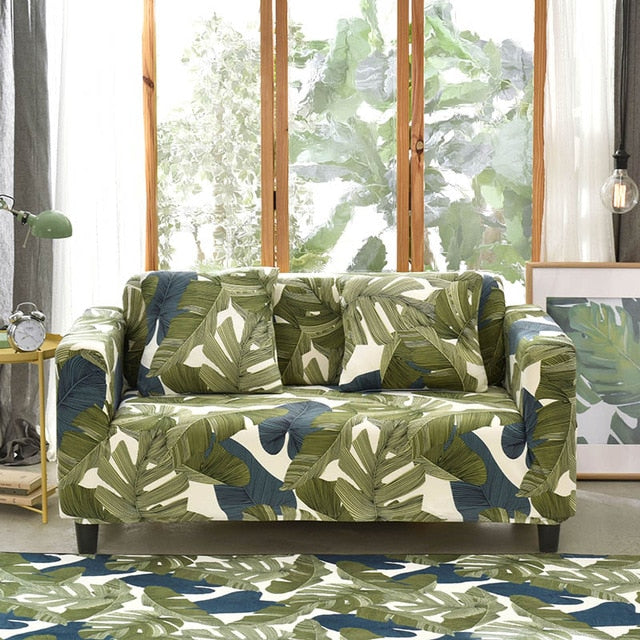 Rainforest Style Sofa Cover