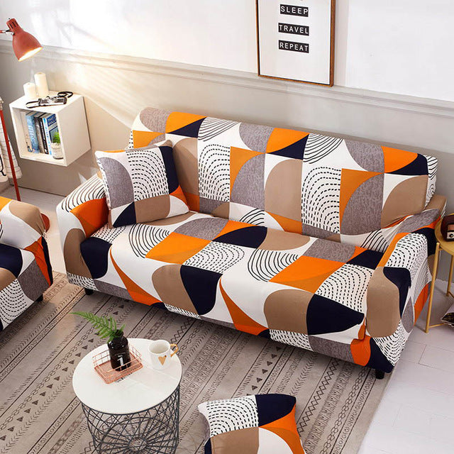 Three Color Sofa Cover