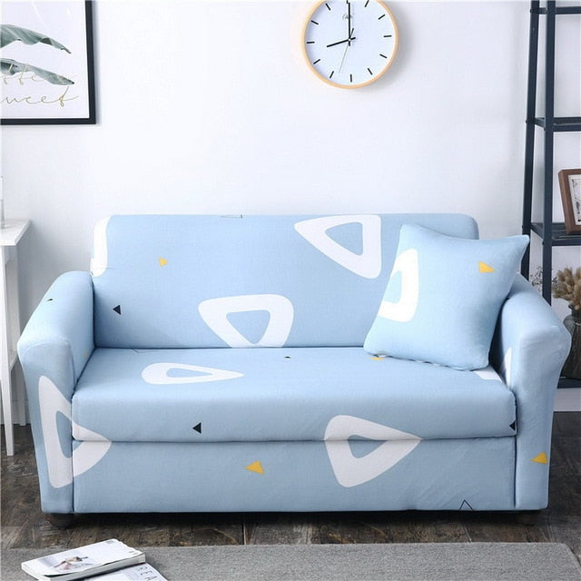 Light Blue Sofa Cover