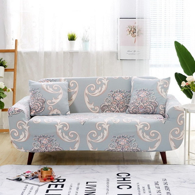 Mandala Design Sofa Cover