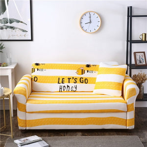 Let's Go Honey Sofa Cover