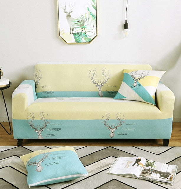 Deer Sofa Cover