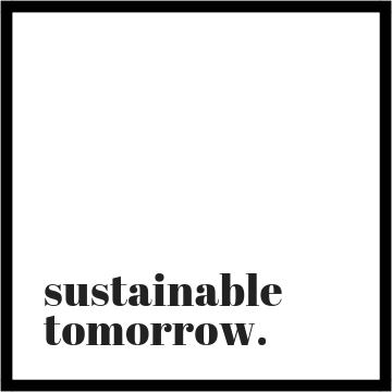 Sustainable tomorrow