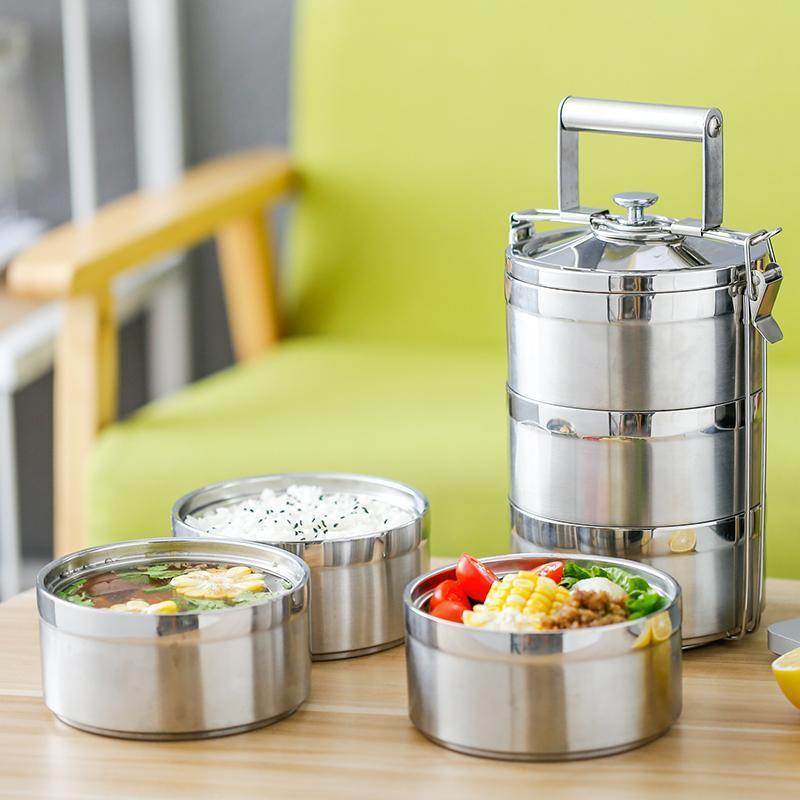 Bento Stacker Metal Lunch Box - Sustainable tomorrow