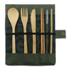 Lunch Break Bamboo Cutlery Set