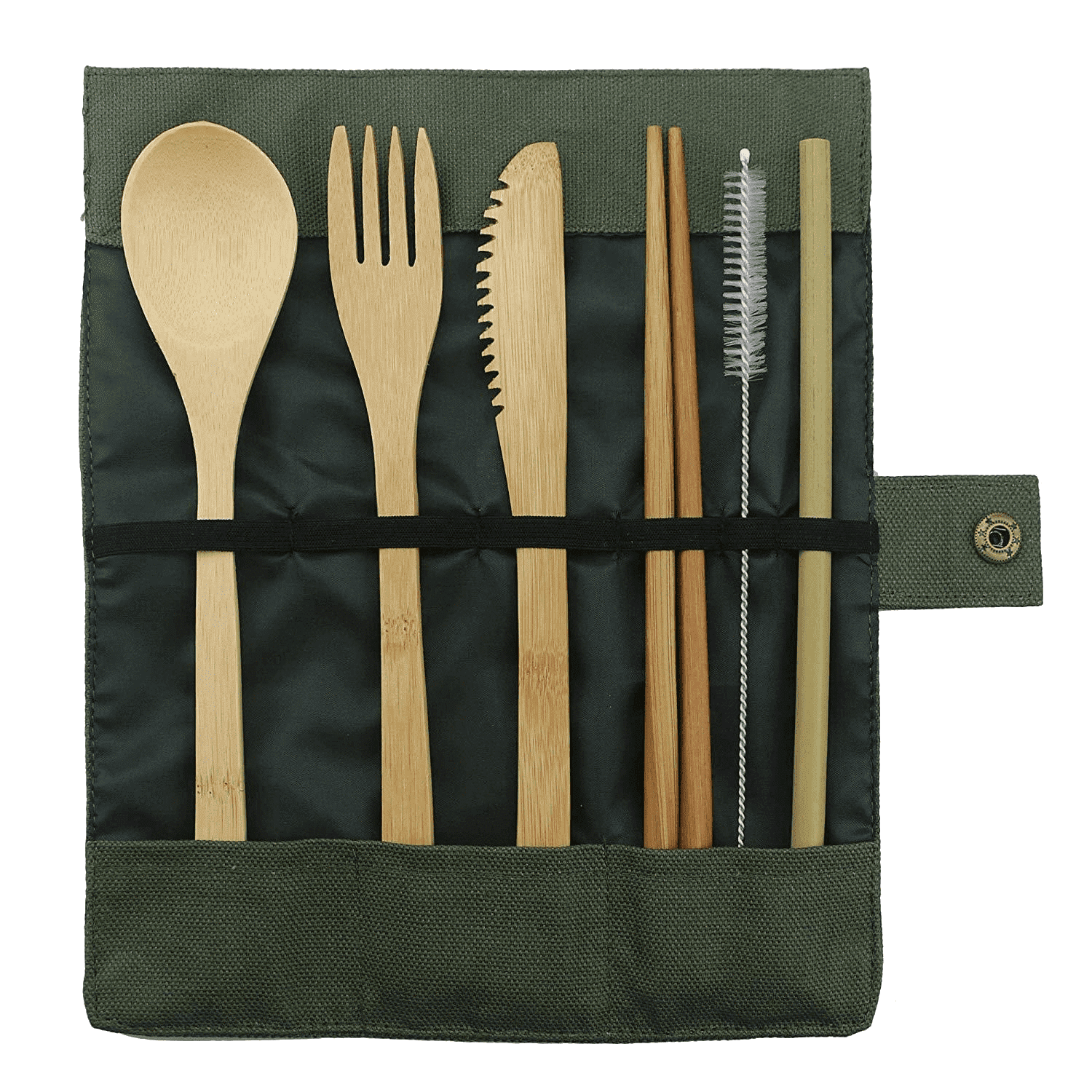 Lunch Break Bamboo Cutlery Set - Sustainable tomorrow