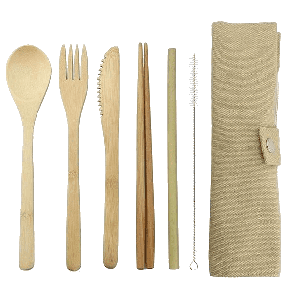 Bamboo Set & Straw - Sustainable tomorrow
