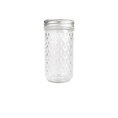 Mason Drinking Jar - Sustainable tomorrow