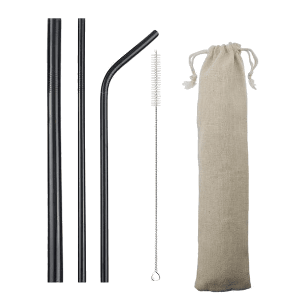 Straws Set & Pouch - Sustainable tomorrow