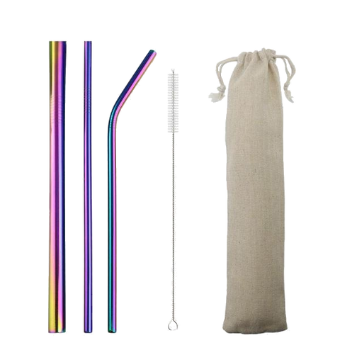 Amazing Straws Set & Pouch - Sustainable tomorrow