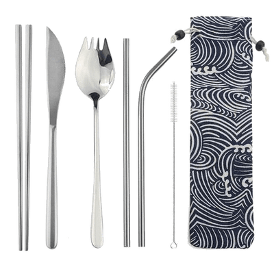 Cutlery Set & Pouch - Sustainable tomorrow