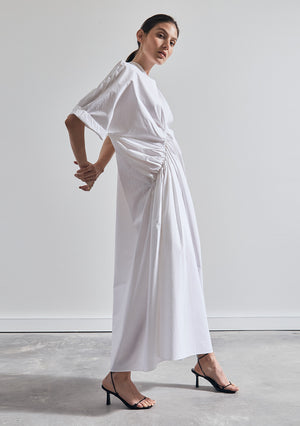 The Asymmetrical Dress - Ivory