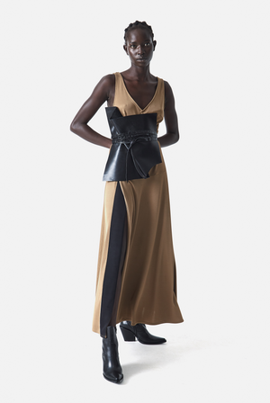The Ochre Jersey Dress