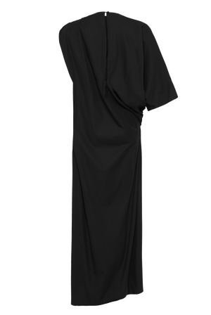 The Asymmetrical Dress - Black