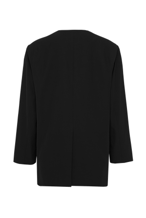 The Collarless Blazer