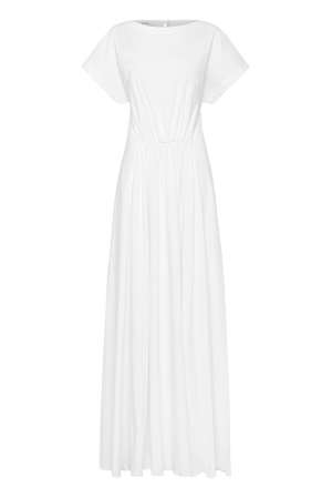 The Gathered Front Maxi Dress
