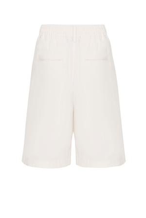 Tailored Shorts - Ivory
