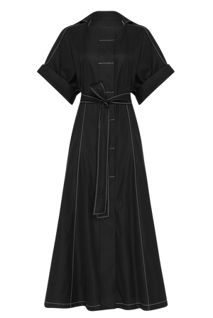 The Black Shirt Dress