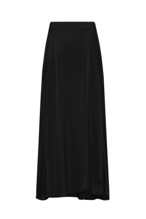 The Black Jersey Skirt