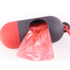 Dog Poop Bag Dispenser Pet Waste Garbage Bags