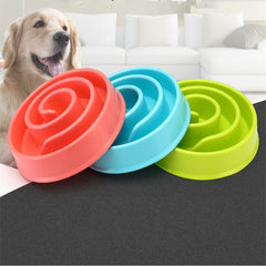Pet Accessories Anti Choke Pet Dog Cat Feeding Bowls Slow Down Eating Bowl Food Prevent Obesity Healthy Diet Feeder Bowl Dish