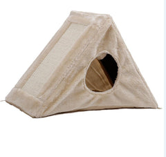 Free Shipping Pet Climbing Toy Cat Kittens Climbing Cat scratch board Stable Easily Assemble Fuuny Toys Cat Tunnel