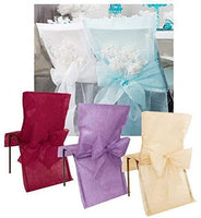 Chair Cover with Bow Sash - 10 pc Pack Green