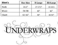 Underwraps Mens Speed Demon,Multi,One Size