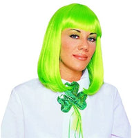 Peggy Sue Neon Green Adult Wig