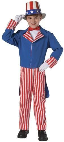 Halloween FX Uncle Sam Child Costume - Small (4-6)