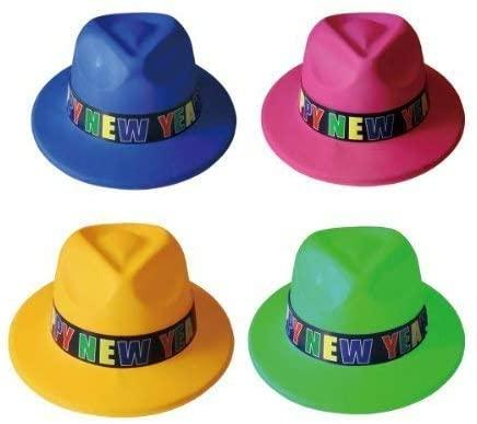 12 Happy New Year Fedora Hats