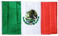 3' x 5' Mexico Soft Polyester Flag Banner