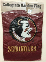 "Evergreen NCAA Florida State Seminoles Garden Applique Flag 12.5"" x 18"""