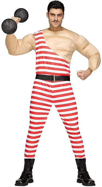 Fun World Carny Muscle Man Costume