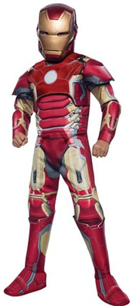 Marvel Avengers Age of Ultron- Iron Man Costume Boys, Large Red