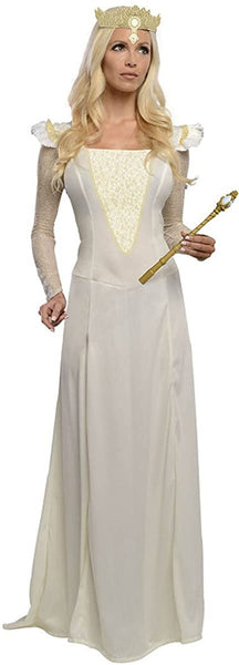 Rubie's Costume Disney's Oz The Great and Powerful Glinda Dress and Headpiece White
