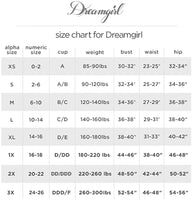 Dreamgirl Women's Venus, White, Small