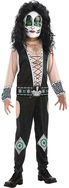 Boys Kiss Catman Peter Criss Rock Star Costume