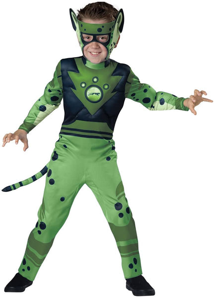 Fun World InCharacter Costumes Cheetah - Green Costume, One Color, Small