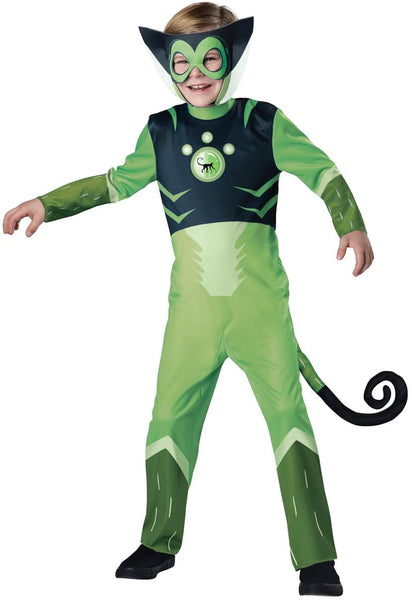 InCharacter Costumes Spider Monkey-Green Costume, One Color, 6