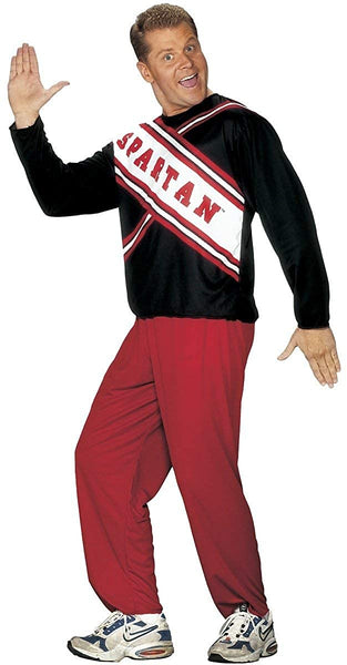 Fun World Men's Saturday Night Live Spartans Cheerleader Plus Size Costume