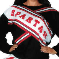 Cheerleader Spartan Girl
