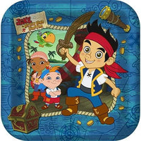 Shindigz Jake & The Never Land Pirates Large Paper Plates (8ct)