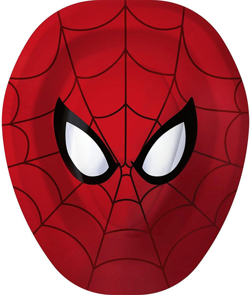 Hallmark Spider-Man Hero Dream Party Shaped Paper Plates (8ct)