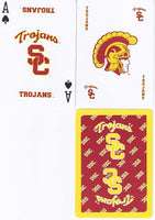 Bicycle USC Trojans Playing Cards