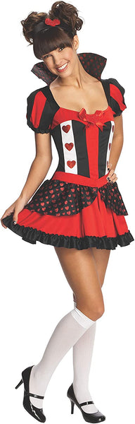 Rubie's Queen Of Hearts Teen Costume, Small