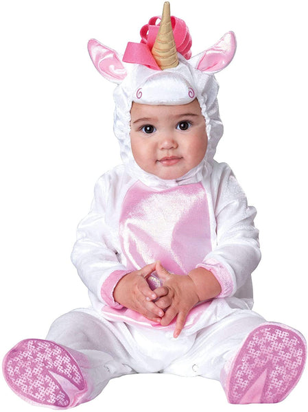 Unicorn Baby Costume White - Infant Small